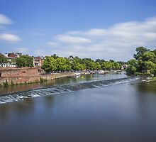 River Dee Chester by Ian Mitchell
