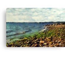 Sunrise Sea Canvas Print