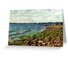 Sunrise Sea Greeting Card