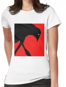 Black raven Womens Fitted T-Shirt
