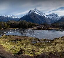 Key Summit New Zealand by STEPHEN GEORGIOU PHOTOGRAPHY