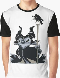 Maleficent Stitch Graphic T-Shirt