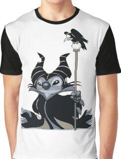 Maleficent Stitch Graphic T-Shirt
