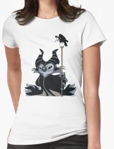 Maleficent Stitch Womens Fitted T-Shirt