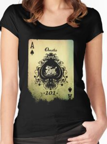 Ace of Spades Women's Fitted Scoop T-Shirt