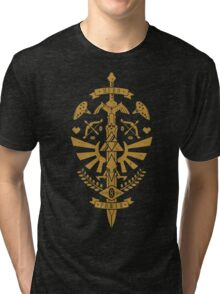Zelda Crest Tri-blend T-Shirt
