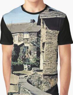 Old Bridge House Ambleside Cumbria England Graphic T-Shirt