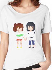 Spirited Away- Chihiro and Haku Women's Relaxed Fit T-Shirt