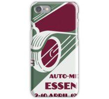 Retro Art Deco style 1930s remake car show  iPhone Case/Skin