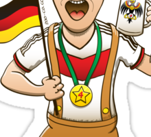 Germany is Four-time World Champion Sticker