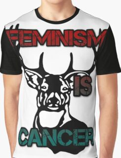 Anti-Feminism Stag Graphic T-Shirt