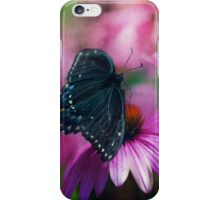 Spicey Swallowtail Butterfly iPhone Case/Skin