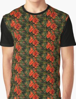 Ruffled by the Wind - Silky Scarlet Poppies Bringing Summer Joy Graphic T-Shirt