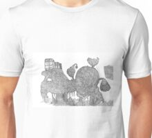 The lost greenhouse in the mountains Unisex T-Shirt