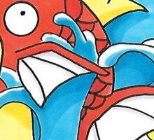 Magikarp use Splash! Sticker