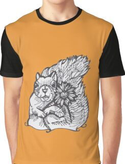 I am Your Squirrely Love Flower- please give me a nut Graphic T-Shirt