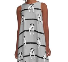 Pit Bull T-Bone Graphic  A-Line Dress