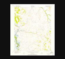 USGS TOPO Map Alaska AK Candle B-6 354771 1950 63360 Unisex T-Shirt