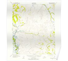 USGS TOPO Map Alaska AK Candle B-6 354771 1950 63360 Poster