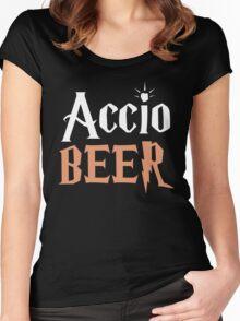 Accio Beer Women's Fitted Scoop T-Shirt
