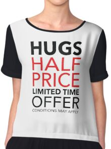 Hugs Half Price Limited Time Offer Chiffon Top