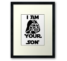 I am your son Framed Print