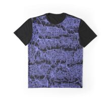 Dark and Purple pattern Graphic T-Shirt