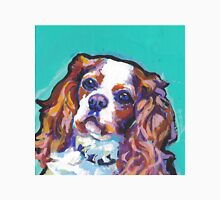 cavalier king charles spaniel Dog Bright colorful pop dog art Unisex T-Shirt