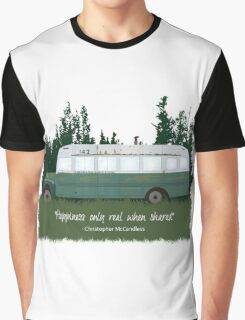 Into The Wild - Bus 142 Graphic T-Shirt