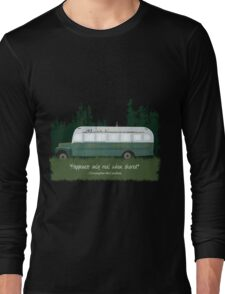 Into The Wild - Bus 142 Long Sleeve T-Shirt