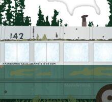 Into The Wild - Bus 142 Sticker