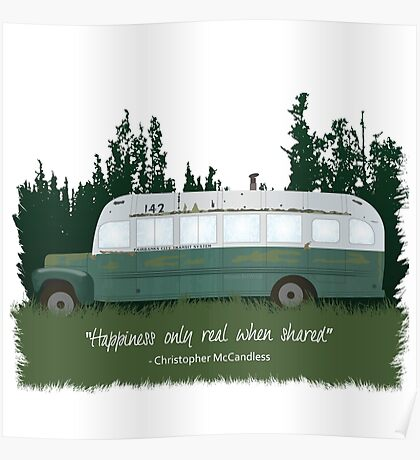 Into The Wild - Bus 142 Poster