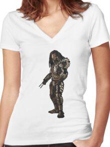 Predator Women's Fitted V-Neck T-Shirt