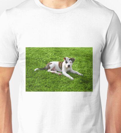 Pit Bull T-Bone Puppy Unisex T-Shirt