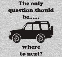 Where to Next? - Discovery Kids Tee