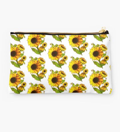 Sunflowers Studio Pouch