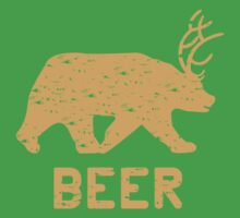 Bear + Deer = Beer by Carolina Swagger