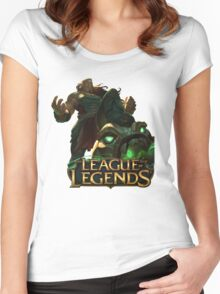 Illaoi - League of Legends Women's Fitted Scoop T-Shirt