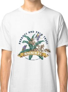 Parrots and Palm Trees Classic T-Shirt