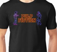 -TARANTINO- Pulp Fiction Neon Unisex T-Shirt
