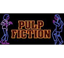 -TARANTINO- Pulp Fiction Neon Photographic Print