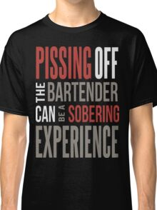 bartender t shirt, bartender hoodie, funny bartender Classic T-Shirt