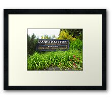 Lakebay, Washington Framed Print