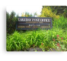 Lakebay, Washington Metal Print