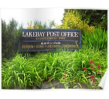 Lakebay, Washington Poster