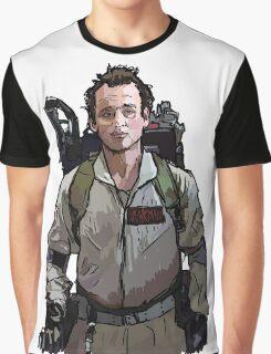 Ghostbusters - Peter Venkman (Bill Murray) Graphic T-Shirt