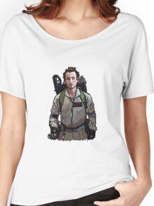 Ghostbusters - Peter Venkman (Bill Murray) Women's Relaxed Fit T-Shirt
