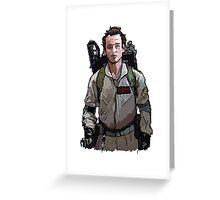 Ghostbusters - Peter Venkman (Bill Murray) Greeting Card
