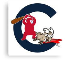 chicaho cubs Canvas Print