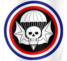 502nd Airborne Infantry Regiment - WWII Poster
